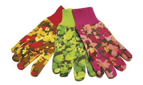 Assorted Gardening Gloves (12) pair