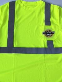 Lime Green Safety shirt