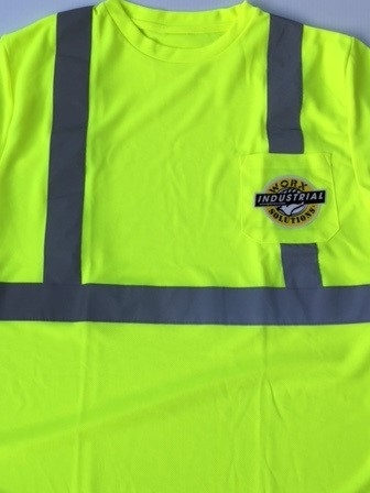 Hi -Viz long Sleeve T Shirt