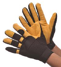 Deer Skin Mechanics Glove