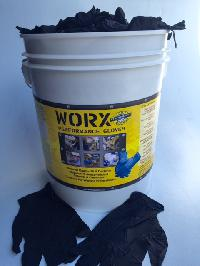 6mil Black Nitrile Bulk Pail (1000) / 1 PER CUSTOMER