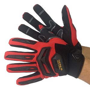 Mechanics Glove Synthetic Double Palm